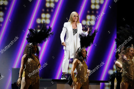 Samantha Bee performs at the 71st Primetime Emmy Awards, at the Microsoft Theater in Los Angeles