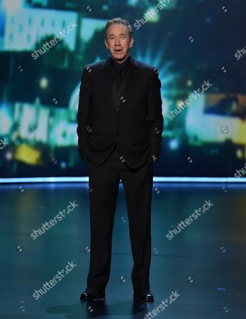 Tim Allen speaks at the 71st Primetime Emmy Awards, at the Microsoft Theater in Los Angeles