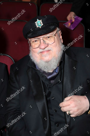 George R. R. Martin in the audience at the 71st Primetime Emmy Awards, at the Microsoft Theater in Los Angeles