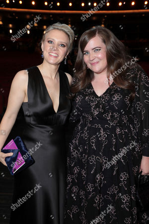 Kate McKinnon, Aidy Bryant. Kate McKinnon, left, and Aidy Bryant pose at the 71st Primetime Emmy Awards, at the Microsoft Theater in Los Angeles
