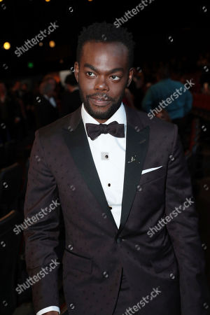 William Jackson Harper in the audience at the 71st Primetime Emmy Awards, at the Microsoft Theater in Los Angeles