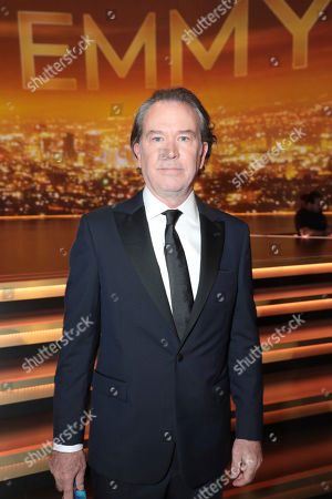 Timothy Hutton poses in the audience at the 71st Primetime Emmy Awards, at the Microsoft Theater in Los Angeles