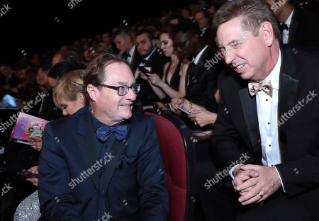 Stephen Root in the audience at the 71st Primetime Emmy Awards, at the Microsoft Theater in Los Angeles