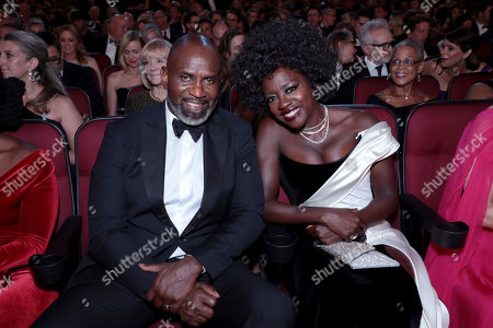 Stock Picture of Genesis Tennon, Viola Davis. Genesis Tennon, left, and Viola Davis pose in the audience at the 71st Primetime Emmy Awards, at the Microsoft Theater in Los Angeles