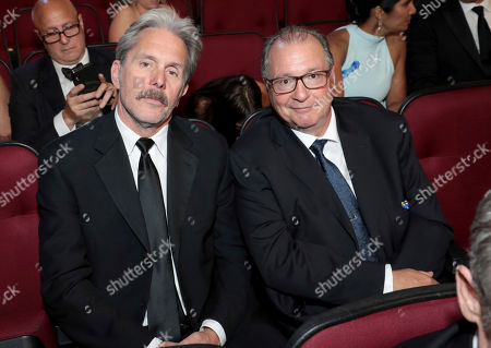 Gary Cole, Kevin Dunn. Gary Cole, left, and Kevin Dunn pose in the audience at the 71st Primetime Emmy Awards, at the Microsoft Theater in Los Angeles