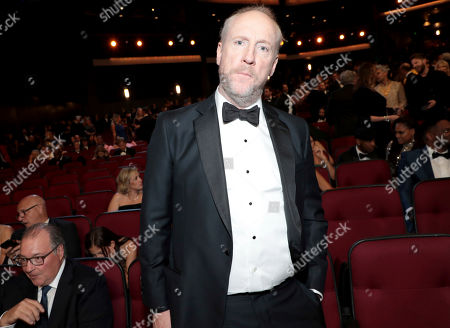 Matt Walsh poses in the audience at the 71st Primetime Emmy Awards, at the Microsoft Theater in Los Angeles