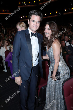 Jason Bateman, Amanda Anka. Jason Bateman, left, and Amanda Anka in the audience at the 71st Primetime Emmy Awards, at the Microsoft Theater in Los Angeles