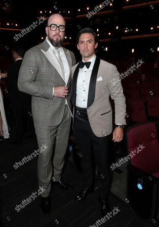 Chris Sullivan, Milo Ventimiglia. Chris Sullivan, left, and Milo Ventimiglia at the 71st Primetime Emmy Awards, at the Microsoft Theater in Los Angeles