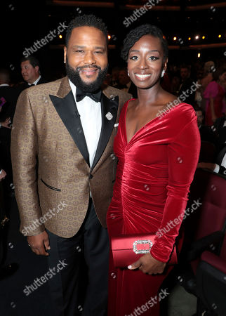 Anthony Anderson, Alvina Stewart. Anthony Anderson, left, and Alvina Stewart at the 71st Primetime Emmy Awards, at the Microsoft Theater in Los Angeles
