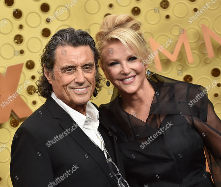 Stock Image of Ian McShane and Gwen Humble