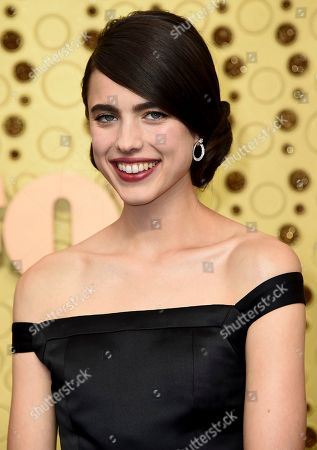 Sarah Margaret Qualley arrives at the 71st Primetime Emmy Awards, at the Microsoft Theater in Los Angeles