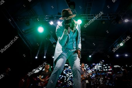 Stock Picture of Ivorian reggae legend Seydou Kone, better known by his artistic name Alpha Blondy, performs in Nairobi, Kenya, 22 September 2019. The 66-year-old African reggae legend headlined the Kenyan music event Koroga Festival.