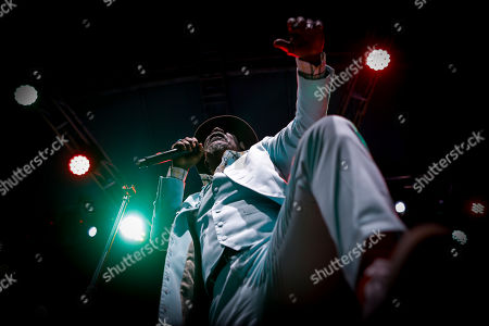 Editorial photo of Seydou Kone performs at Koroga Festival in Nairobi, Kenya - 22 Sep 2019