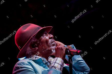 Editorial image of Seydou Kone performs at Koroga Festival in Nairobi, Kenya - 22 Sep 2019
