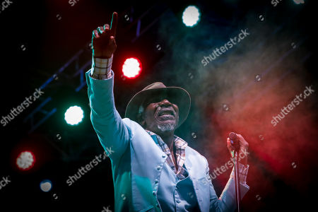 Stock Image of Ivorian reggae legend Seydou Kone, better known by his artistic name Alpha Blondy, performs in Nairobi, Kenya, 22 September 2019. The 66-year-old African reggae legend headlined the Kenyan music event Koroga Festival.