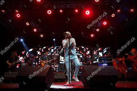 Editorial picture of Seydou Kone performs at Koroga Festival in Nairobi, Kenya - 22 Sep 2019