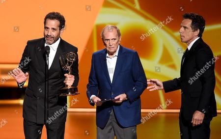 Tony Shalhoub, Bob Newhart and Bob Newhart