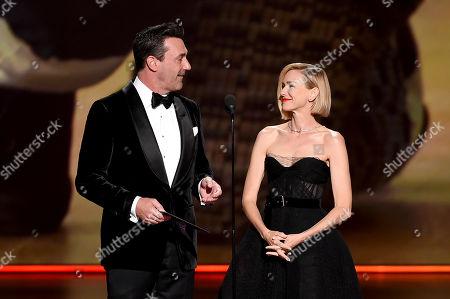 Jon Hamm and Naomi Watts
