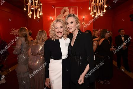 Catherine O'Hara, Jane Lynch. Catherine O'Hara, left, and Jane Lynch attend the 71st Primetime Emmy Awards, at the Microsoft Theater in Los Angeles