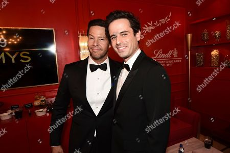 Ike Barinholtz, Luke Kirby. Ike Barinholtz, left, and Luke Kirby attend the 71st Primetime Emmy Awards, at the Microsoft Theater in Los Angeles