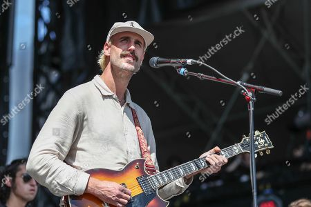 Stock Picture of Rayland Baxter performs at Pilgrimage Music and Cultural Festival at The Park at Harlinsdale, in Franklin, Tenn