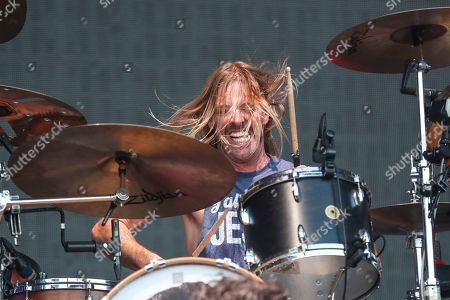 Stock Photo of Taylor Hawkins, Foo Fighters. Taylor Hawkins of the Foo Fighters performs at Pilgrimage Music and Cultural Festival at The Park at Harlinsdale, in Franklin, Tenn