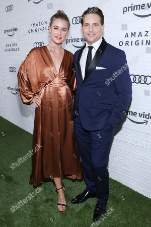 Stock Image of Lily Anne Harrison and Peter Facinelli