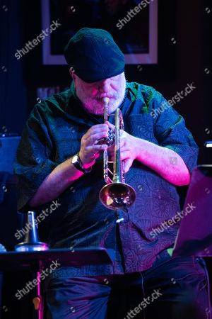 Stock Picture of Trumpeter Randy Brecker