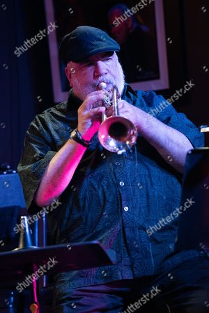 Stock Photo of Trumpeter Randy Brecker