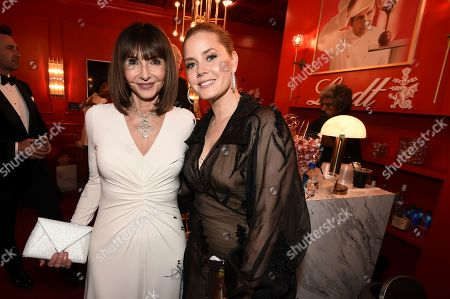 Mary Steenburgen and Amy Adams attend the 71st Primetime Emmy Awards, at the Microsoft Theater in Los Angeles