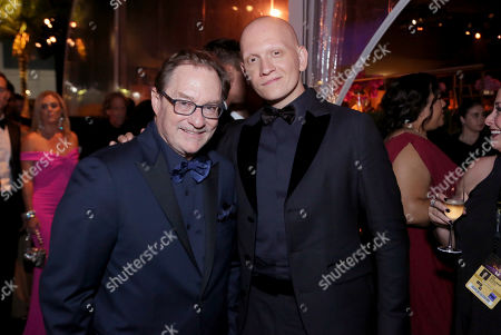 Stephen Root, Anthony Carrigan. Stephen Root, left, and Anthony Carrigan attend the 71st Primetime Emmy Awards Governors Ball, at the Microsoft Theater in Los Angeles