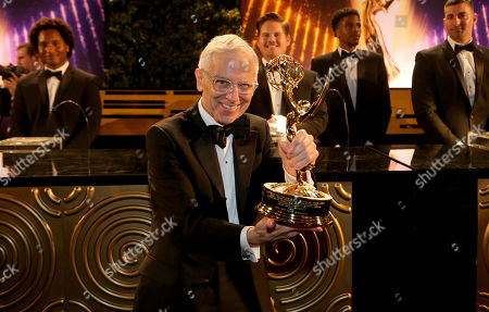 """Don Roy King, winner of the award for outstanding directing for a variety series for """"Saturday Night Live,"""" attend the 71st Primetime Emmy Awards Governors Ball, at the Microsoft Theater in Los Angeles"""