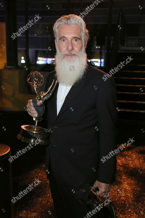 """Chris Newman, winner of the award for outstanding drama series for """"Game of Thrones,"""" attends the 71st Primetime Emmy Awards Governors Ball, at the Microsoft Theater in Los Angeles"""