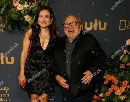 Stock Image of Lucy DeVito and Danny DeVito