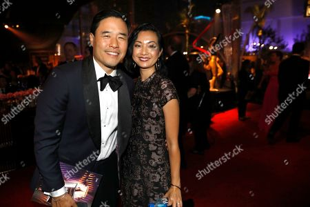 Randall Park, Jae W. Suh. Randall Park, left, and Jae W. Suh attend the 71st Primetime Emmy Awards Governors Ball, at the Microsoft Theater in Los Angeles