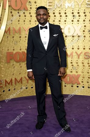 Stock Photo of Darius McCrary arrives at the 71st Primetime Emmy Awards, at the Microsoft Theater in Los Angeles