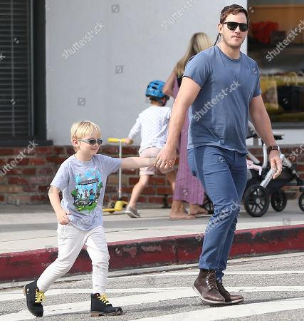 Chris Pratt and Jack Pratt