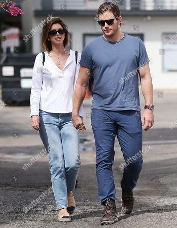 Editorial photo of Katherine Schwarzenegger, Chris Pratt and Jack Pratt out and about, Los Angeles, USA - 22 Sep 2019