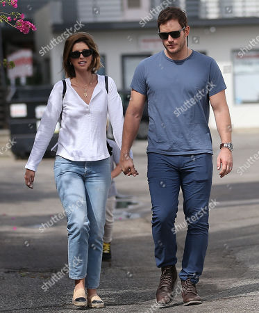Editorial picture of Katherine Schwarzenegger, Chris Pratt and Jack Pratt out and about, Los Angeles, USA - 22 Sep 2019