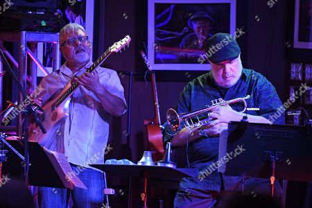 Editorial picture of Billy Cobham's Crosswinds Project in concert at The Funky Biscuit, Boca Raton, Florida, USA - 22 Sep 2019