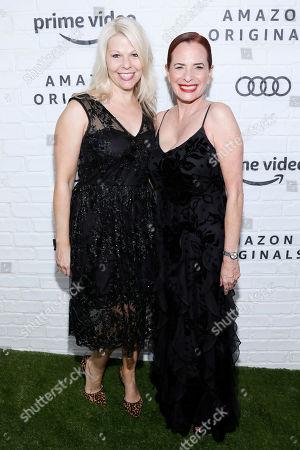 Stock Image of Matilda Szydagis and Donna Rosenstein