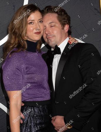 Jessy Hodges and Beck Bennett
