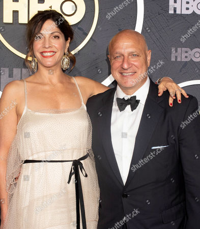 Stock Photo of Tom Colicchio and Lori Silverbush