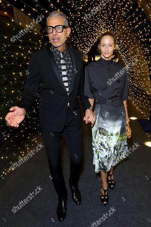Jeff Goldblum Emilie Livingston