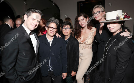 Jill Soloway, Faith Soloway, Trace Lysette, Jane Lynch and Amy Sherman-Palladino
