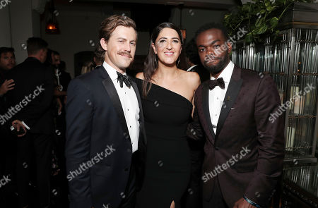 Stock Image of Alex Moffat, D'Arcy Carden and William Jackson Harper