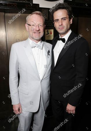Jared Harris and Luke Kirby