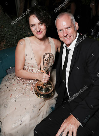 Phoebe Waller-Bridge and Martin McDonagh attend 71st Primetime Emmy Awards and Prime Video After Party
