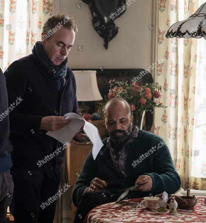 John Crowley Director and Jeffrey Wright as Hobie