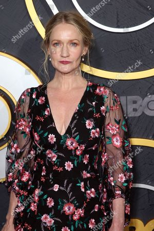 Northern Irish actress Paula Malcomson arrives for the HBO Emmy Awards After Party at the Pacific Design Center in West Hollywood, California, USA, late 22 September 2019. The party took place after the 71st Primetime Emmy Awards ceremony in Los Angeles.
